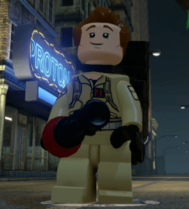 Lego Dimensions Ghostbusters Level Pack - Peter Venkman