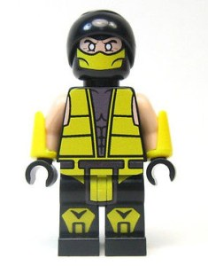 Custom Lego Scorpion minifig
