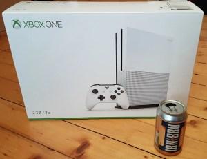 Xbox One S box