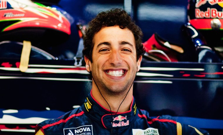 Admit it: unless you're obsessed with F1 you don't know who this is. You think he looks a bit like the guy from American Pie, but no. That was Jason Biggs. This isn't him