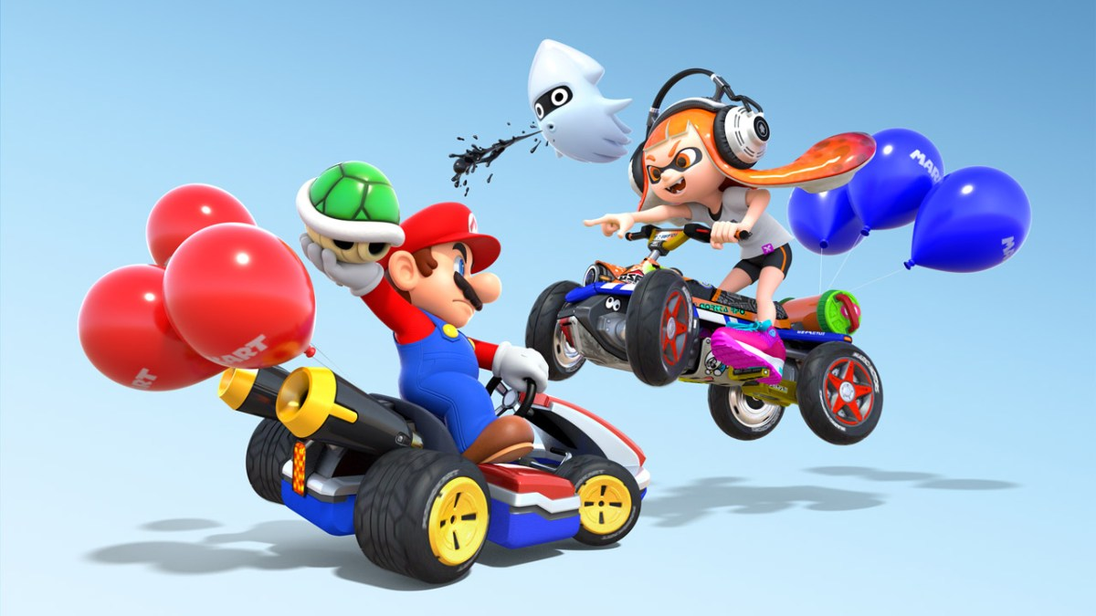 Mario Kart 8 Deluxe Switch Review Tired Old Hack