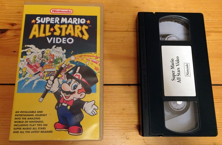 VHS Preservation Project #1: The Super Mario All-Stars Video