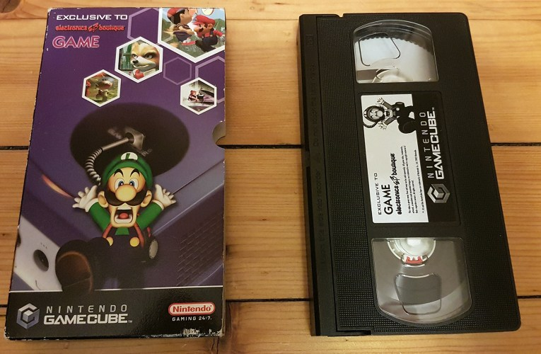 VHS Preservation Project #8: GameCube / GAME promo video