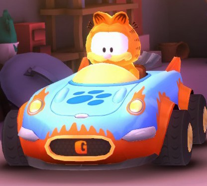 Formula ZZZ (Garfield's car)