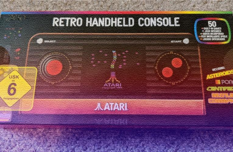 Atari 2600 Retro Handheld Console (Blaze) review