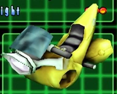 Bobo's banana car