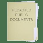 Redacted Public Documents
