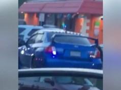 Subaru WRX Sti undercover
