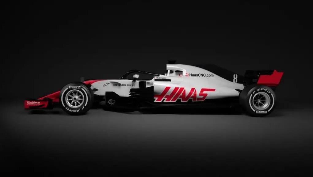 Haas F1 VF-18
