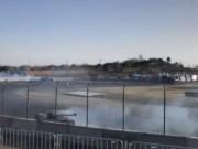 Daigo Saito wreck Corvette