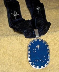 Princess's Champion ribbon and medallion
