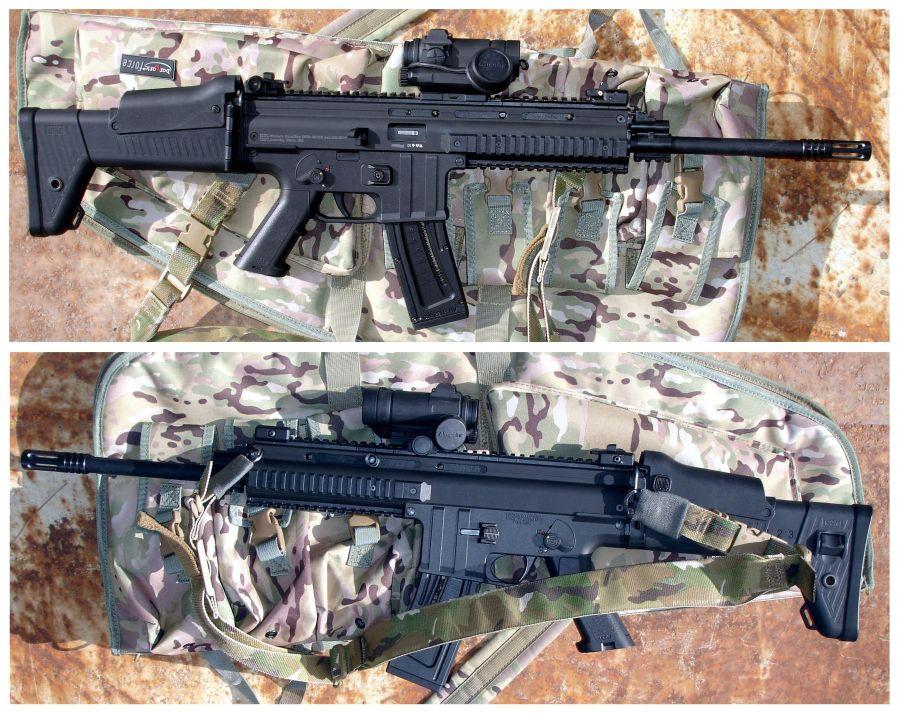 5. Vista lateral del fusil ISSF MK22. ©Jorge Tierno Rey.