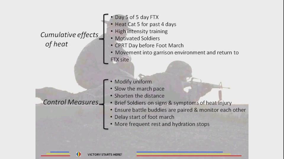 Cumulative effects of heat - Control Measures - Heat Can Kill 2[21-15-20]
