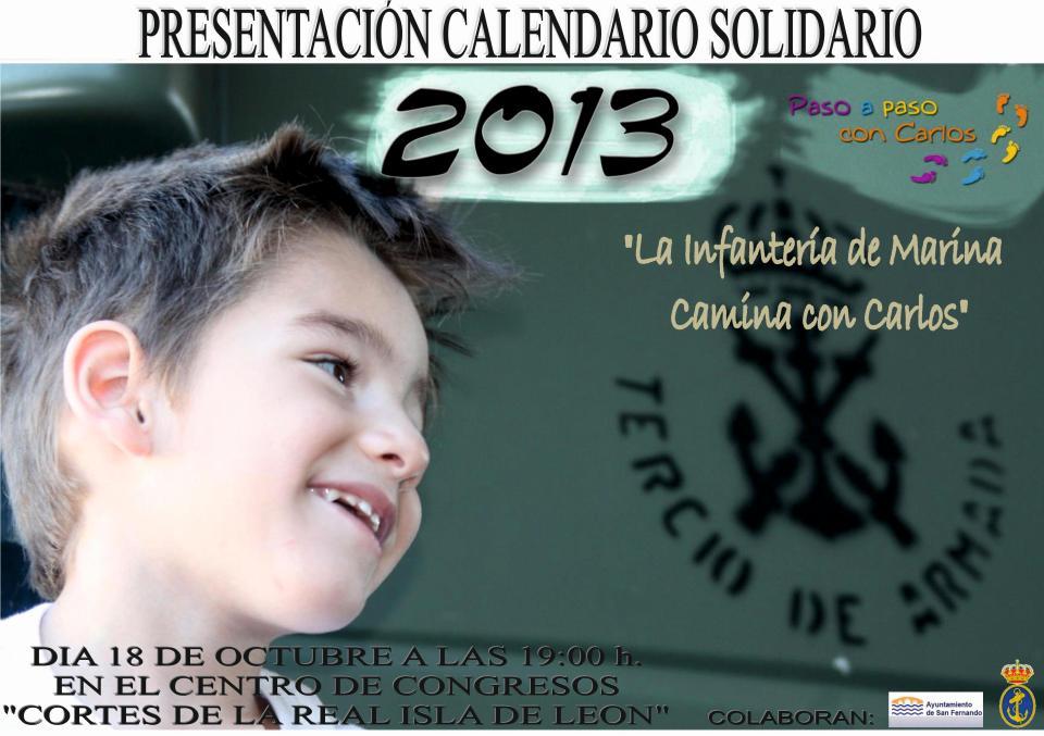 Calendario 2013 Paso a Paso con Carlitos.