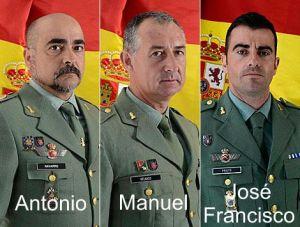 DEP Antonio, Manuel, José Francisco