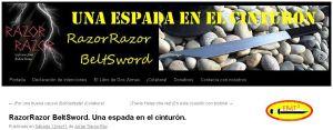RazorRazor BeltSword. Una espada en el cinturón