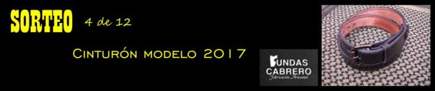 SORTEO. Fundas Cabrero. Cinturón modelo 2017, para uso diario (4 de 12).