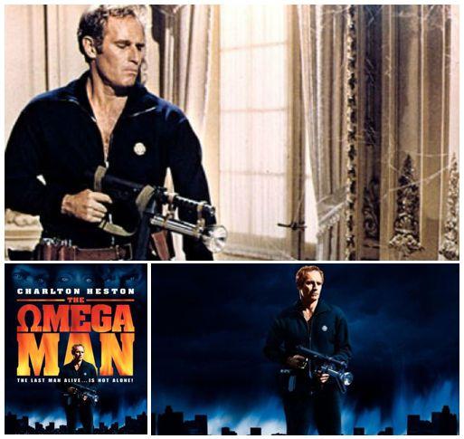 1971. Charlton Heston en The Omega Man