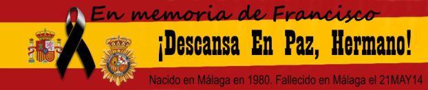 En memoria de Francisco. Málaga. 21MAY14
