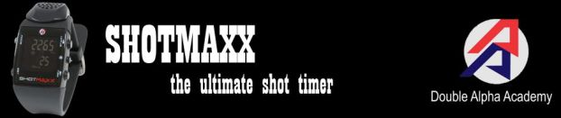 SHOTMAXX, the ultimate shot timer, by Double Alpha Academy.