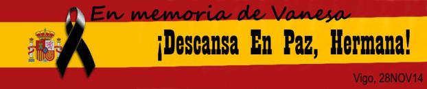 En memoria de Vanesa. Vigo. 28NOV14.
