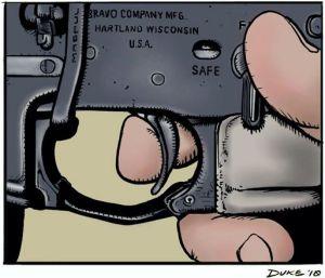 Control del disparador