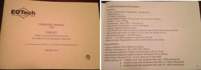 Manual de Usuario del modelo EXPS3 con fecha de enero 2011