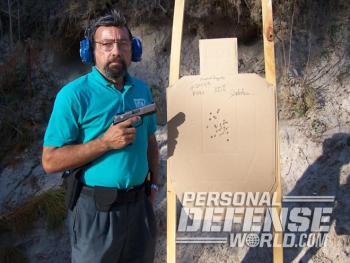 La pistola Ruger P345 permitió al autor alcancar una puntuación perfecta en un ejercicio corto de evaluación policial.