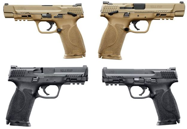 Pistolas de la nueva serie M2.0 de Smith and Wesson