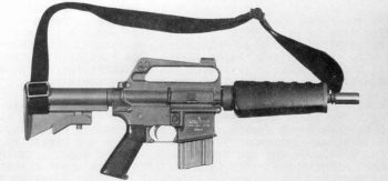 Fusil compacto La France M-16K.
