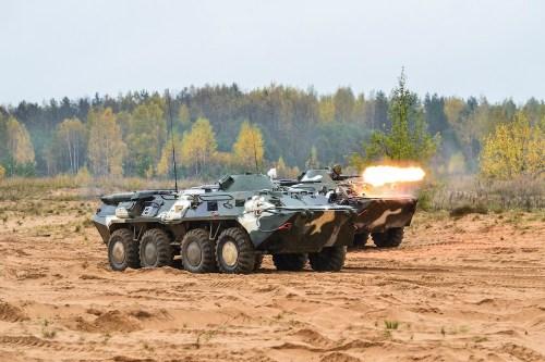 Ejercicios militares rusos en 2017