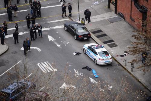Policías asesinados en Nueva York