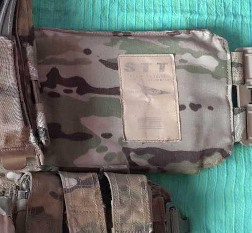 Portaplacas SKD Tactical STT usado