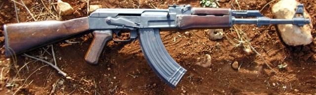 Fusil AK-47. Foto de Dominio Público.