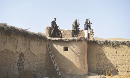Pueblo afgano