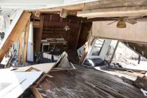 Hurricane damage insurance claims