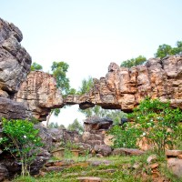 Natural Arch at Tirumala Hills