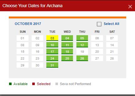 archana dates