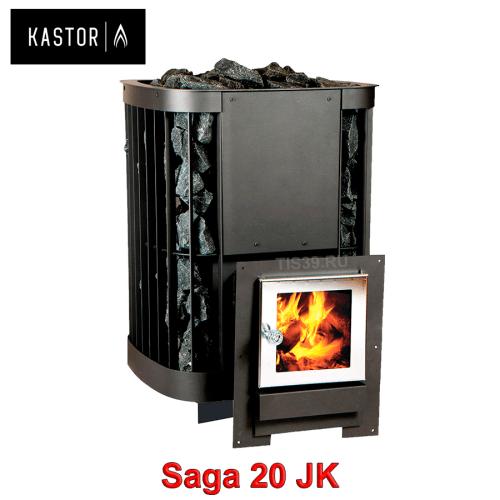 Печь для бани на дровах Kastor Saga JK 20