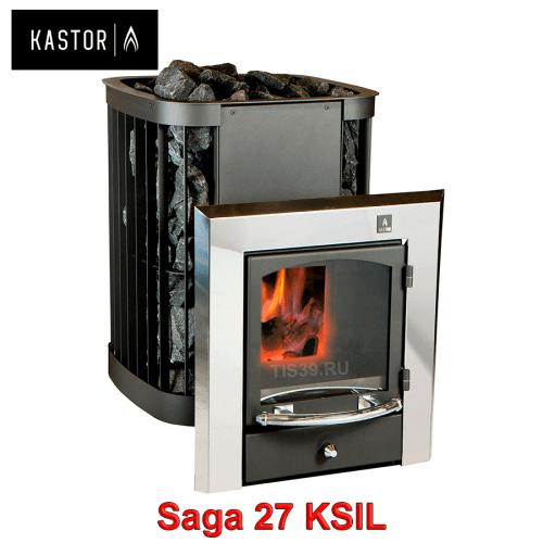 Печь для бани на дровах Kastor Saga KSIL 27