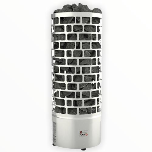 Электрическая печь для бани сауны парилки Sawo Aries без пульта управления