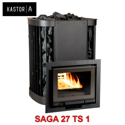 Печь для бани на дровах Kastor Saga 27 TS 1