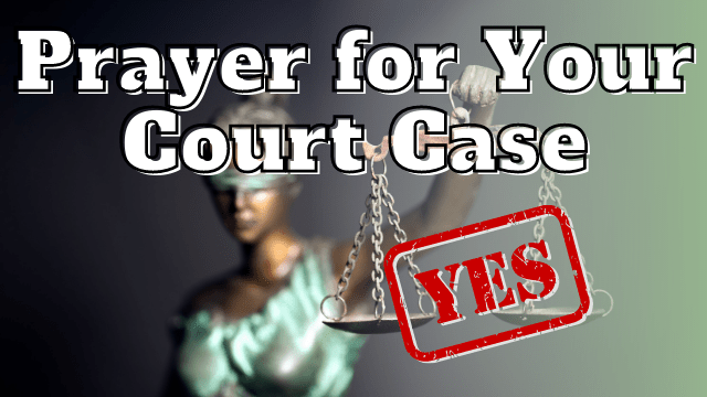 Prayer to Win in Court   Let Justice be Done in Jesus Name