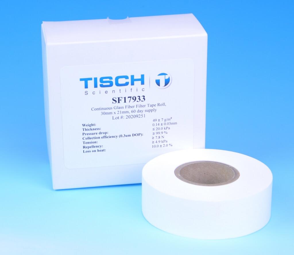 Sf Glass Fiber Filter Tape Roll 60 Day Tisch