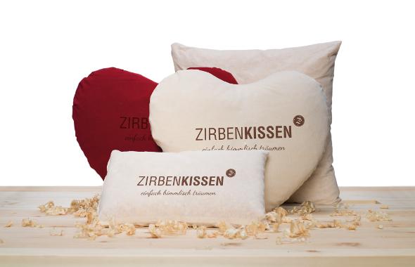 Zirben-Kissen-set