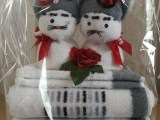 "Geschenkepackung ""Hochzeits-Katzenpaar"""