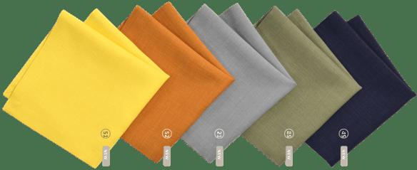 sander loft tischwäsche farben
