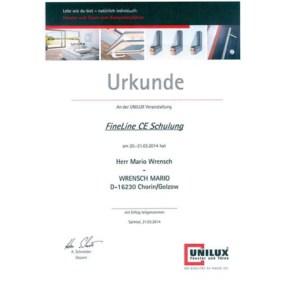 FineLine CE Schulung - Mario Wrensch