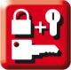 Zu diesem Schlüssel gleichschließend lieferbar: Türzylinder, Vorhangschlösser, Türzusatzschlösser
