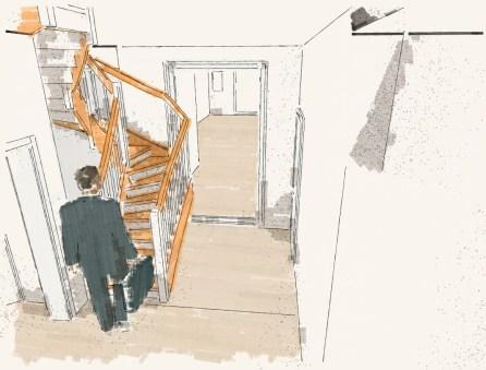 Treppen Entwurf